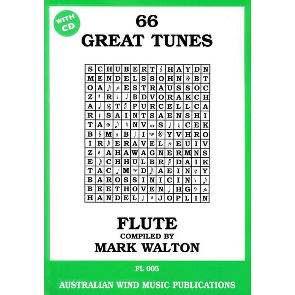 66 GREAT TUNES (FLUTE)