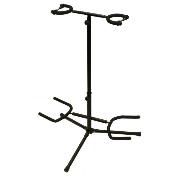 XTREME DOUBLE GUITAR STAND - Arties Music Online
