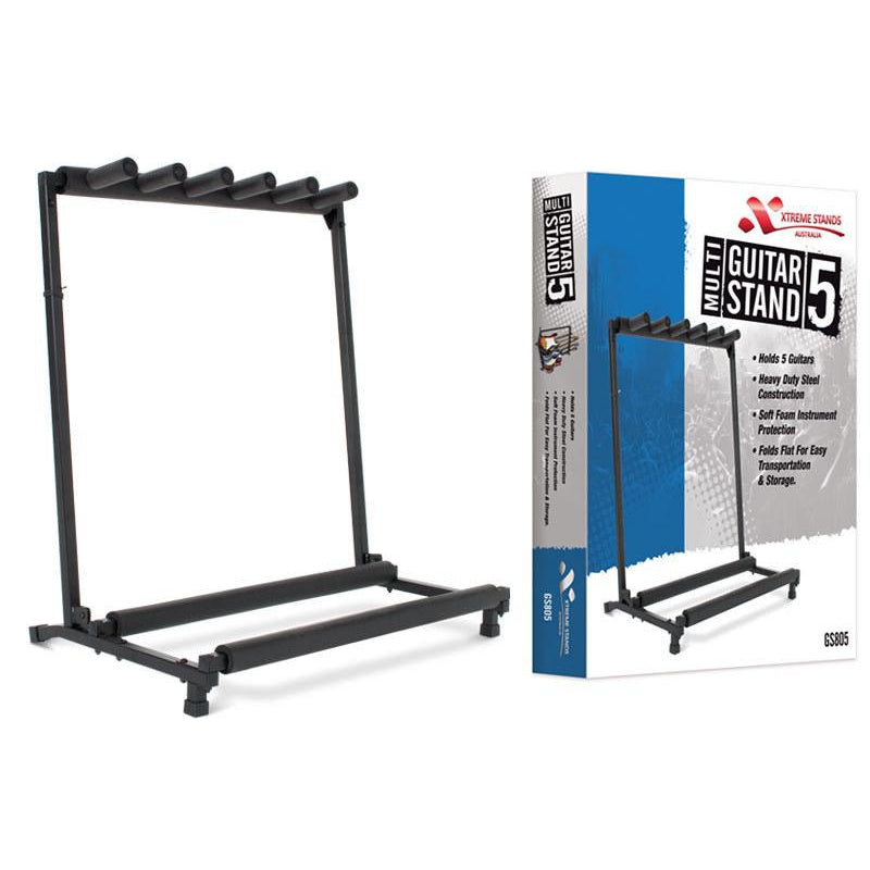 XTREME MULTI GUITAR RACK (HOLDS 5)