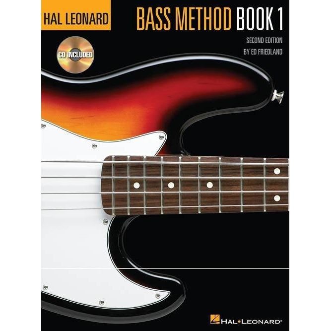 HAL LEONARD ELECTRIC BASS METHOD BK 1 - Arties Music Online