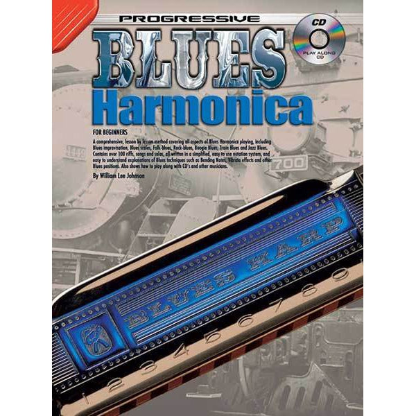 Progressive Blues Harmonica Book/CD - Arties Music Online