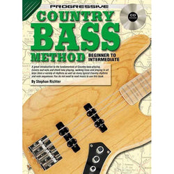 Progressive Country Bass Book/CD