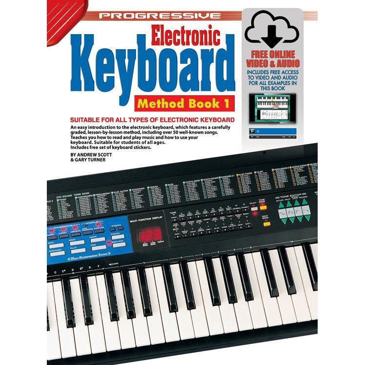 Progressive Keyboard Method 1 Book/Online Video & Audio - Arties Music Online