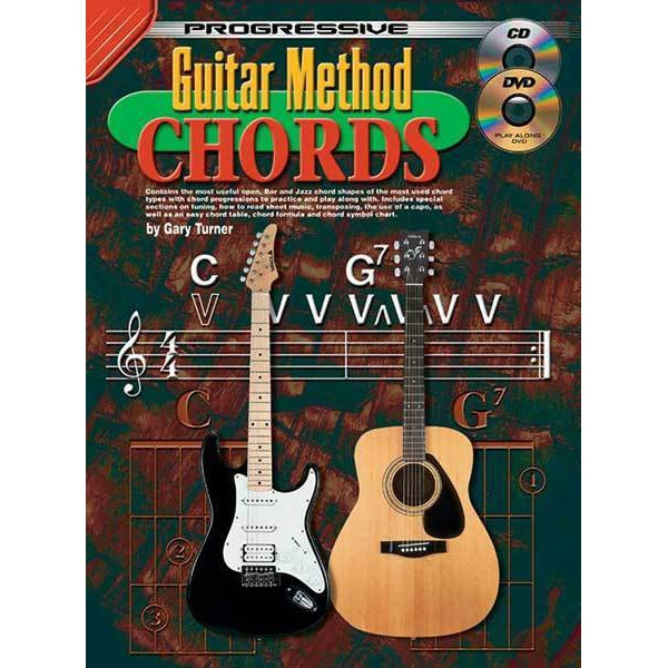 Progressive Guitar Method Chords Book/CD/DVD
