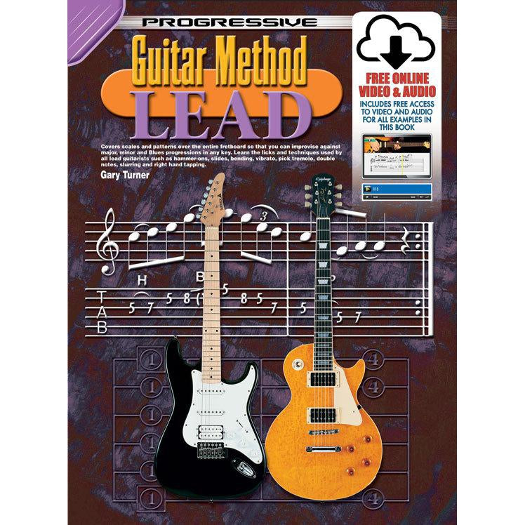 Progressive Guitar Method Lead Book/Online Video & Audio - Arties Music Online