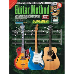 Progressive Guitar Method Book 1 Supplement Book/CD/DVD