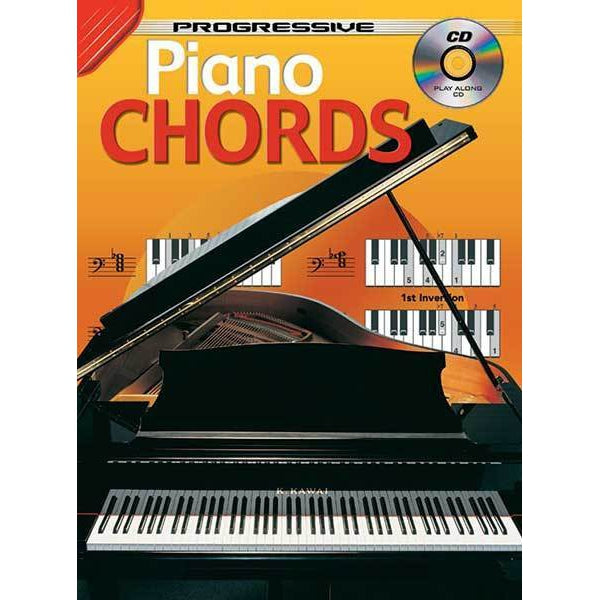 Progressive Piano Chords Book/CD
