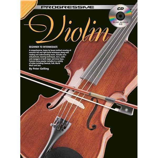 Progressive Violin Method Book/CD