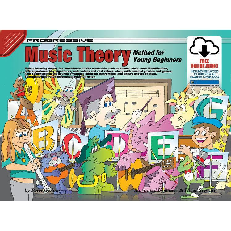 Progressive Theory Method for Young Beginners Book/Online Video & Audio