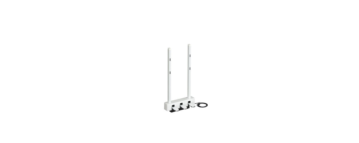 LP1WH THREE PEDAL UNIT FOR P125WH WHITE