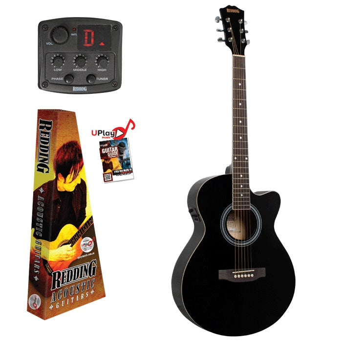 REDDING E/ACOUSTIC BLACK