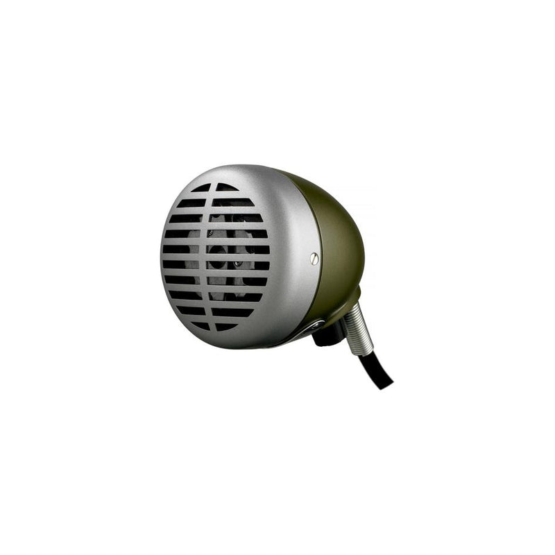 SHURE 520DX GREEN BULLET OMNIDIRECTIONAL DYNAMIC HARMONICA MICROPHONE