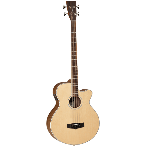 Tanglewood TDBTABBW Discovery Exotic Black Walnut Acoustic Bass C/E