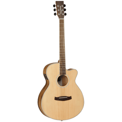 TANGLEWOOD DISCOVERY EXOTIC (PACIFIC WALNUT) SUPER-FOLK ACOUSTIC/ELECTRIC GUITAR
