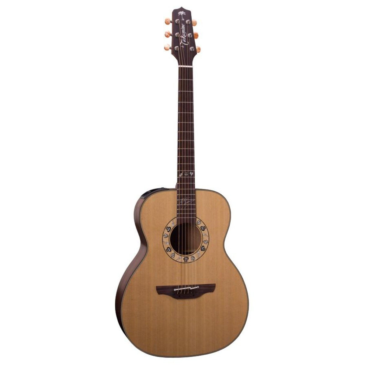 TAKAMINE KENNY CHESNEY ARTIST SERIES ORCHESTRAL ACOUSTIC/ELECTRIC GUITAR W/ HARDCASE - Arties Music Online