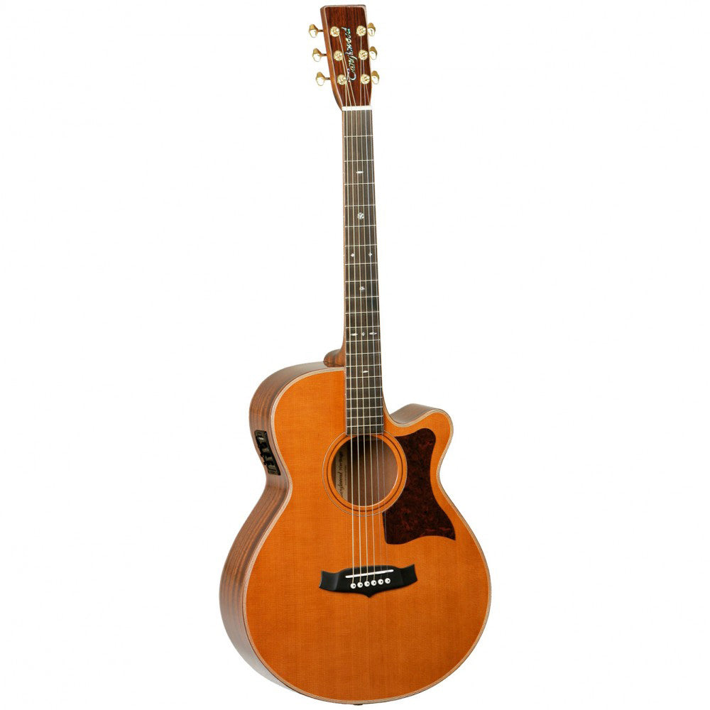 TANGLEWOOD TW45HE  HERITAGE SUPERFOLK C/E ACOUSTIC GUITAR