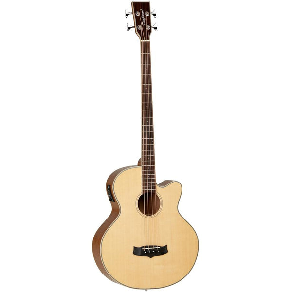 Tanglewood Winterleaf TW8AB Acoustic Bass Solid Spruce Top with Pickup