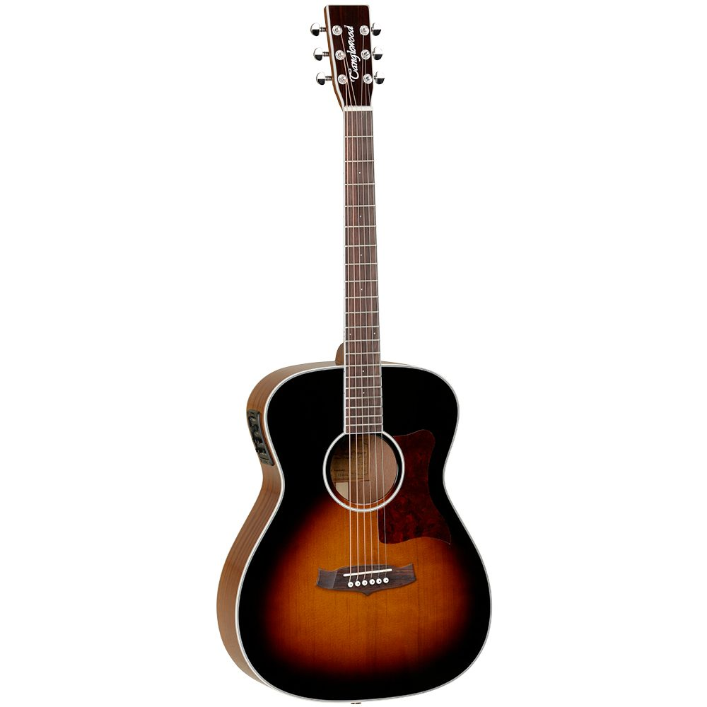 Tanglewood X70TE Sundance Performance Pro Orchestra / Folk Torrefied Spruce / Mahogany with case