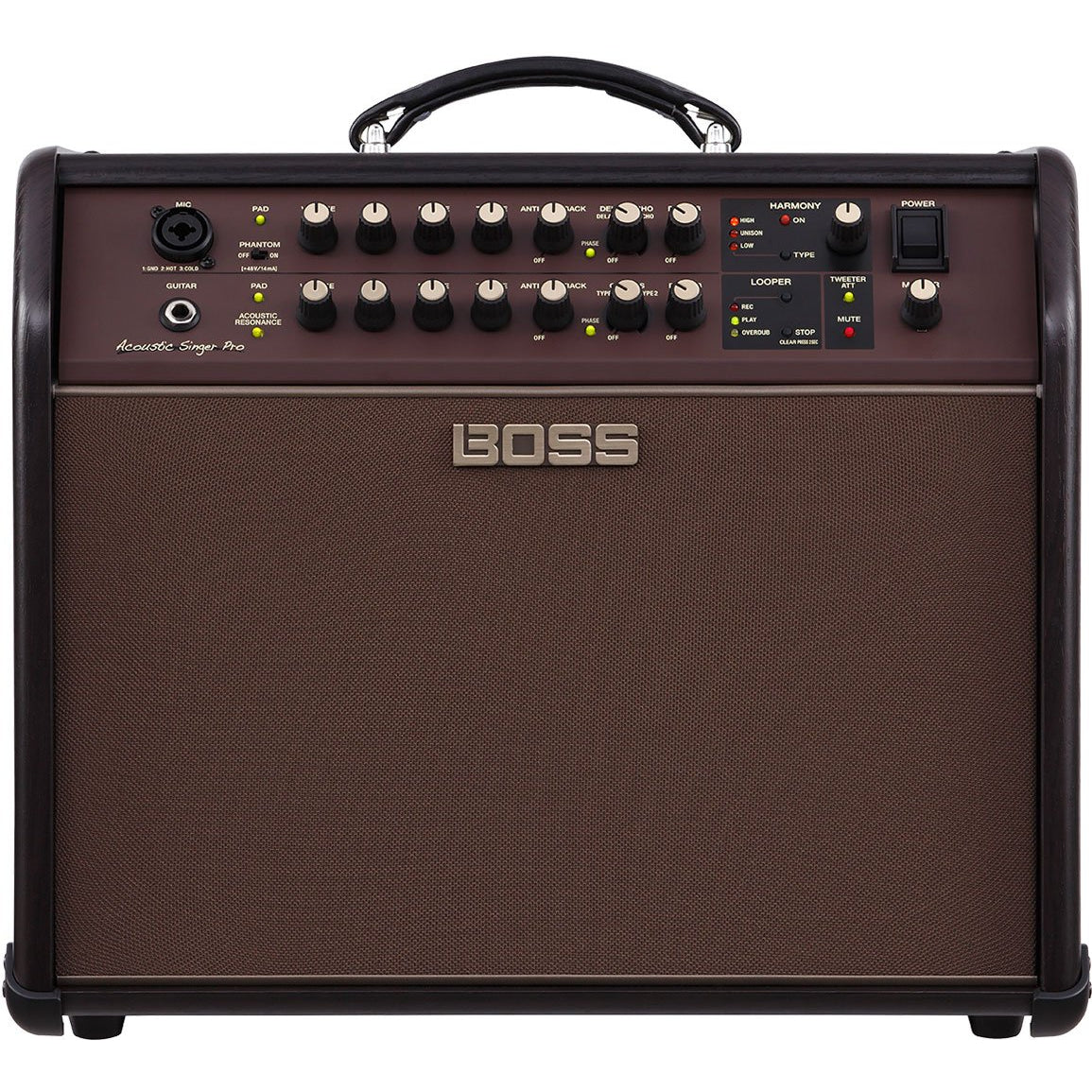 BOSS ACOUSTIC SINGER PRO 120W ACOUSTIC AMP - Arties Music Online