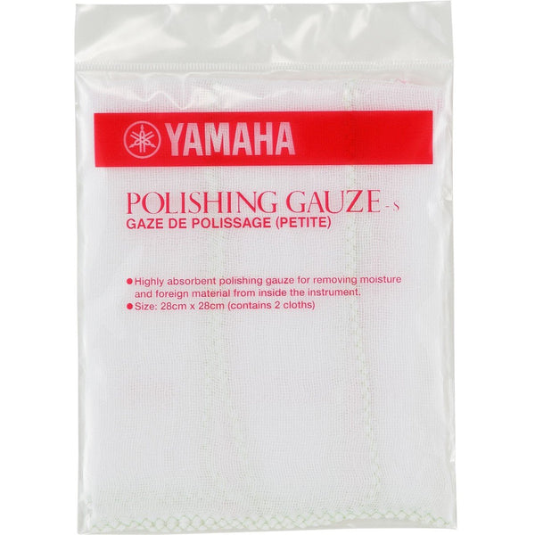 YAMAHA POLISHING GAUZE SMALL (PACK OF 2)