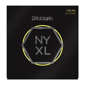 D'ADDARIO ELECTRIC GUITAR STRING SET 09/46 NYXL SUPER LITE - Arties Music Online