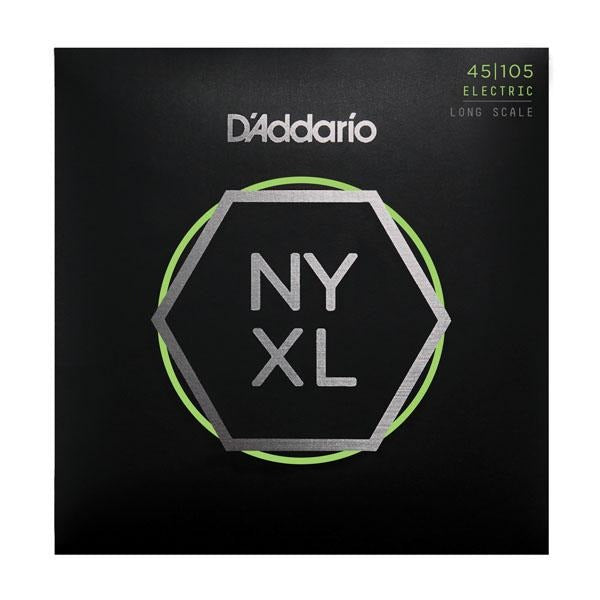 D'ADDARIO ELECTRIC BASS STRING SET 45/105 NYXL LONG