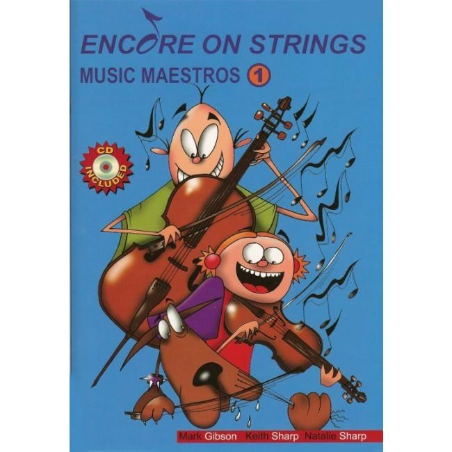ENCORE ON STRINGS MUSIC MAESTROS CELLO BK 1