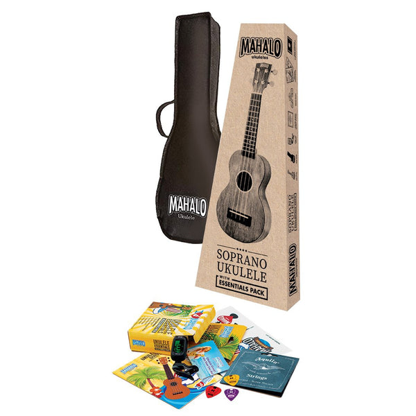 MJ2TBRK JAVA SERIES MAHALO ESSENTIALS CONCERT UKULELE PACK