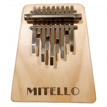 KALIMBA 9-NOTE MITELLO WOOD - Arties Music Online