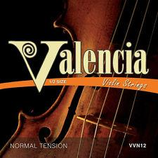 VALENCIA 1/2 SIZE VIOLIN STRING SET (ALSO SUITS 1/4 SIZE) - Arties Music Online