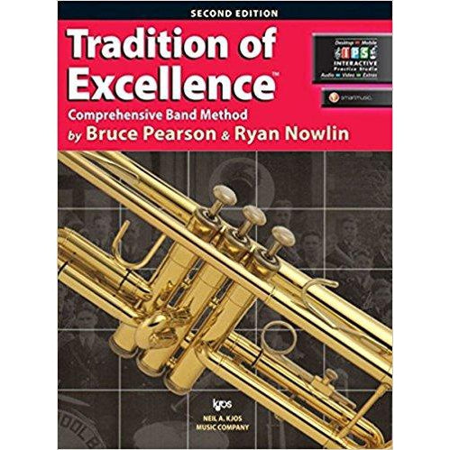 TRADITION OF EXCELLENCE BK 1 TRUMPET