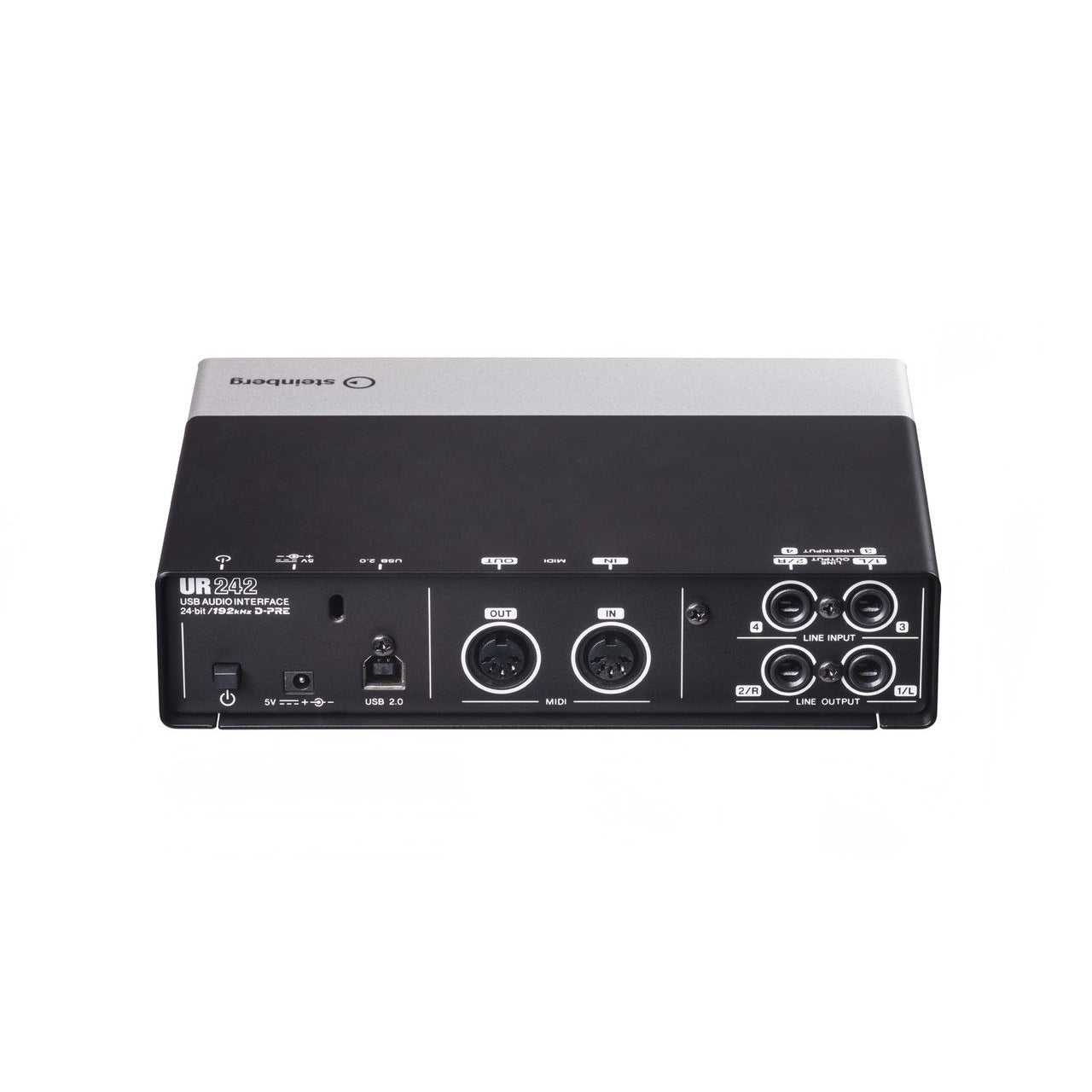 STEINBERG UR242 USB AUDIO & MIDI INTERFACE - Arties Music Online