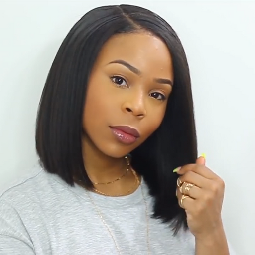 2019 New Listing Natural Bob Wig Cut Straight Hair