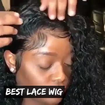 Full Lace Deep Curly Wave Wig
