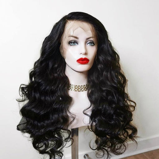 360 Lace Wigs Pre Plucke body wave With Babyhair
