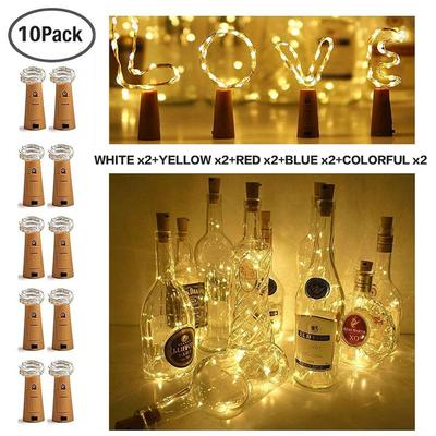 Happy New Year【Last day promotion. Only 2.95】BOTTLE LIGHTS