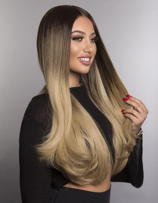 "SYNTHETIC WIG MILA 20""-24""295G STRAIGHT"