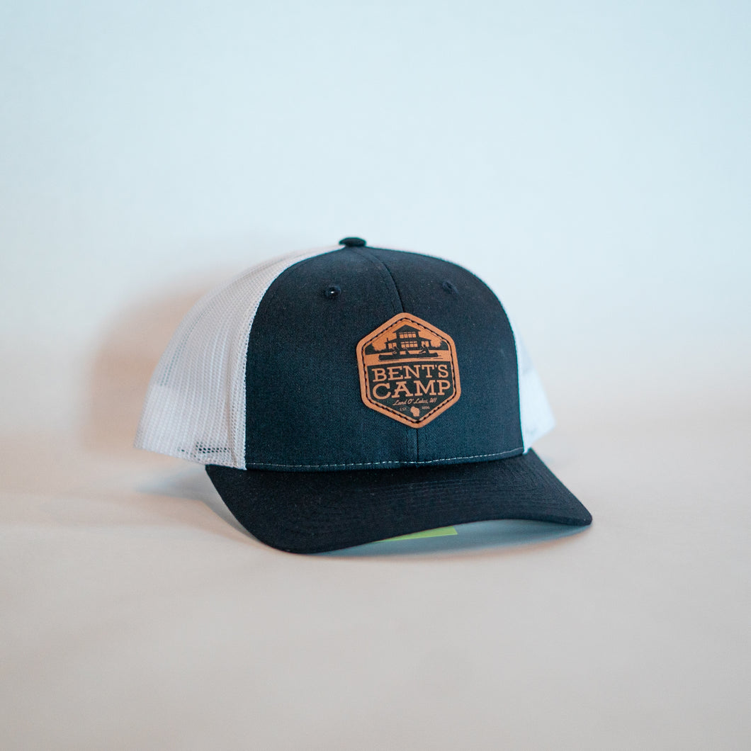 Navy Shield Trucker