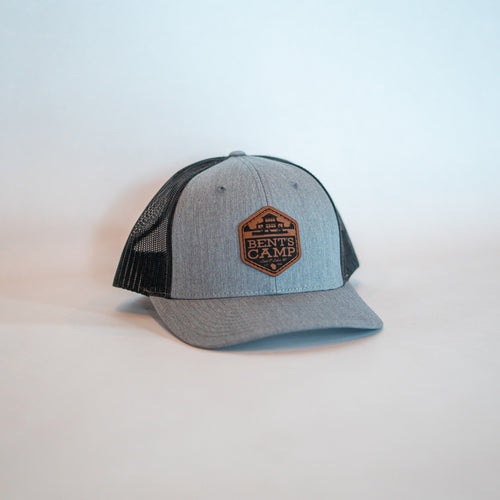 Charcoal Shield Trucker