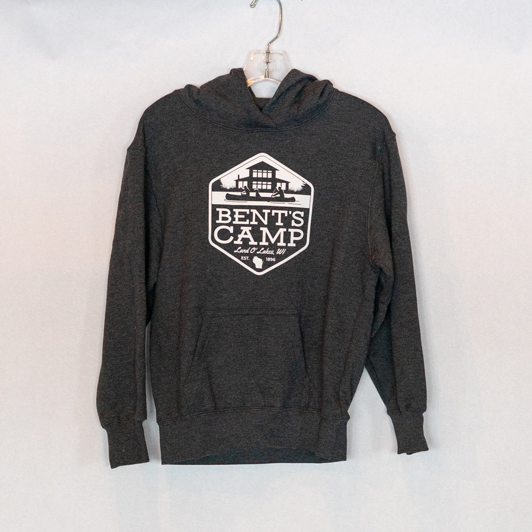 Youth Bent's Camp Shield Hoodie