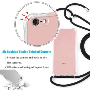 stylish Smartphone Necklace white. Keep your hands free. Handsfree. protect your phone. protective cover