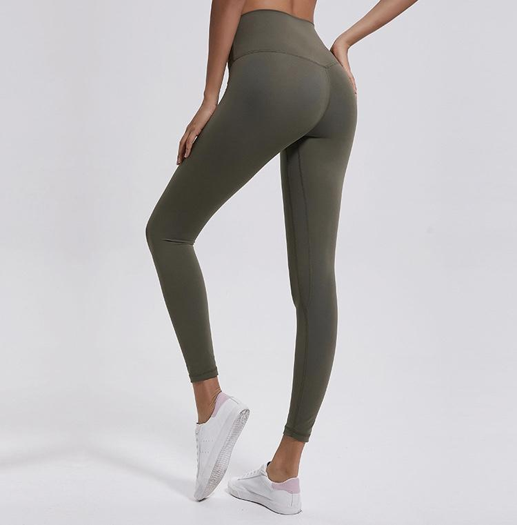army green High Waist Leggings New Colours Yoga Pants Mindfulness-HOP