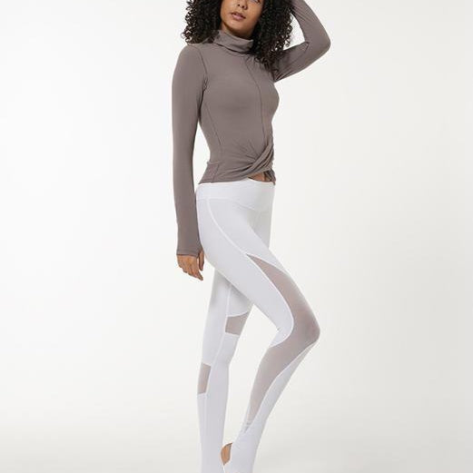 Lividity Wrap Long Sleeve Top Tops Mindfulness-HOP