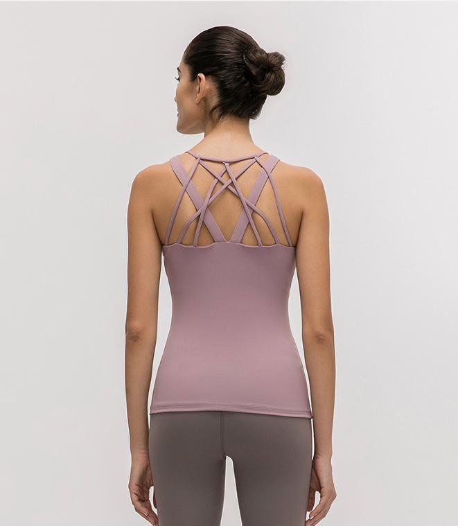 Ash Purple Echo 2 in 1 Top Mindfulness-HOP Ash purple XS