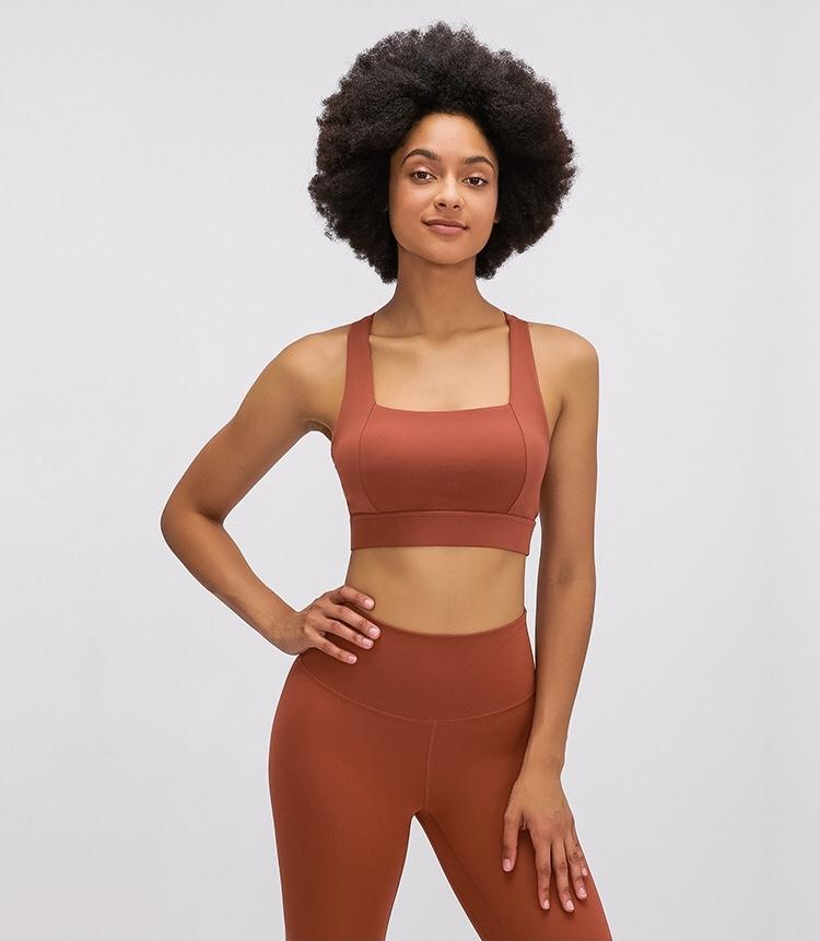 Red Power Sports Bra bras Mindfulness-HOP