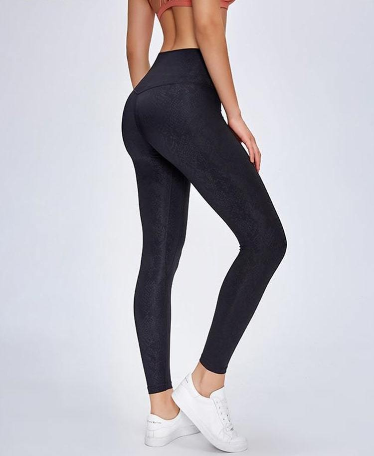 Limited Edition: Black Sky Ash Leggings Yoga Pants Mindfulness-HOP