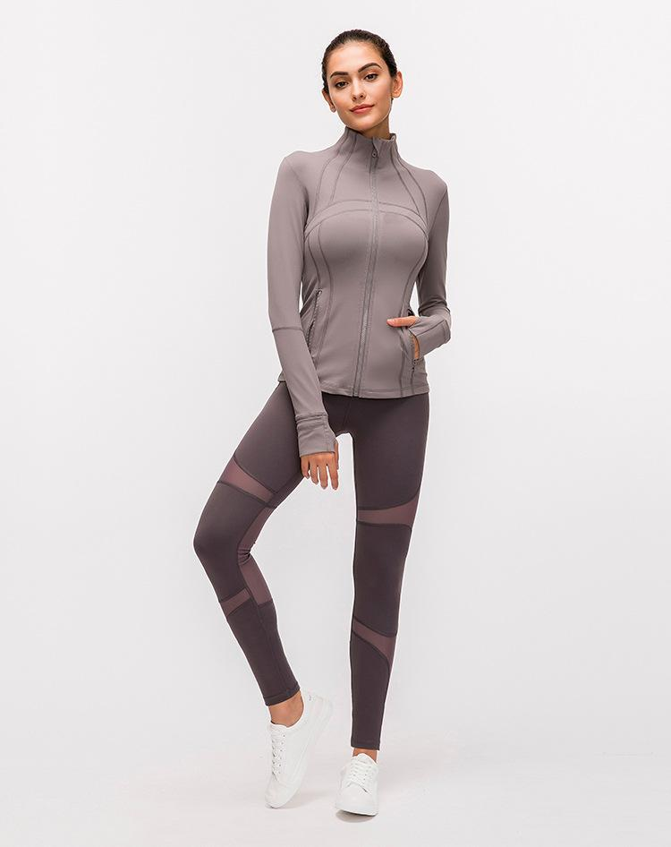 Lividity Elevate Zipper Jacket Tops Mindfulness-HOP