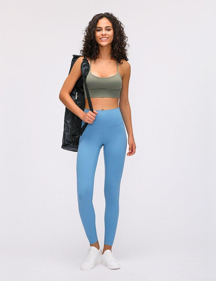 lake blue High Waist Leggings New Colours Mindfulness-HOP