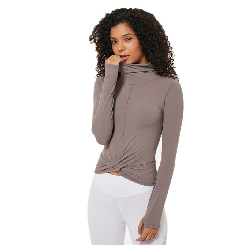 Wrap Long Sleeve Top Mindfulness-HOP