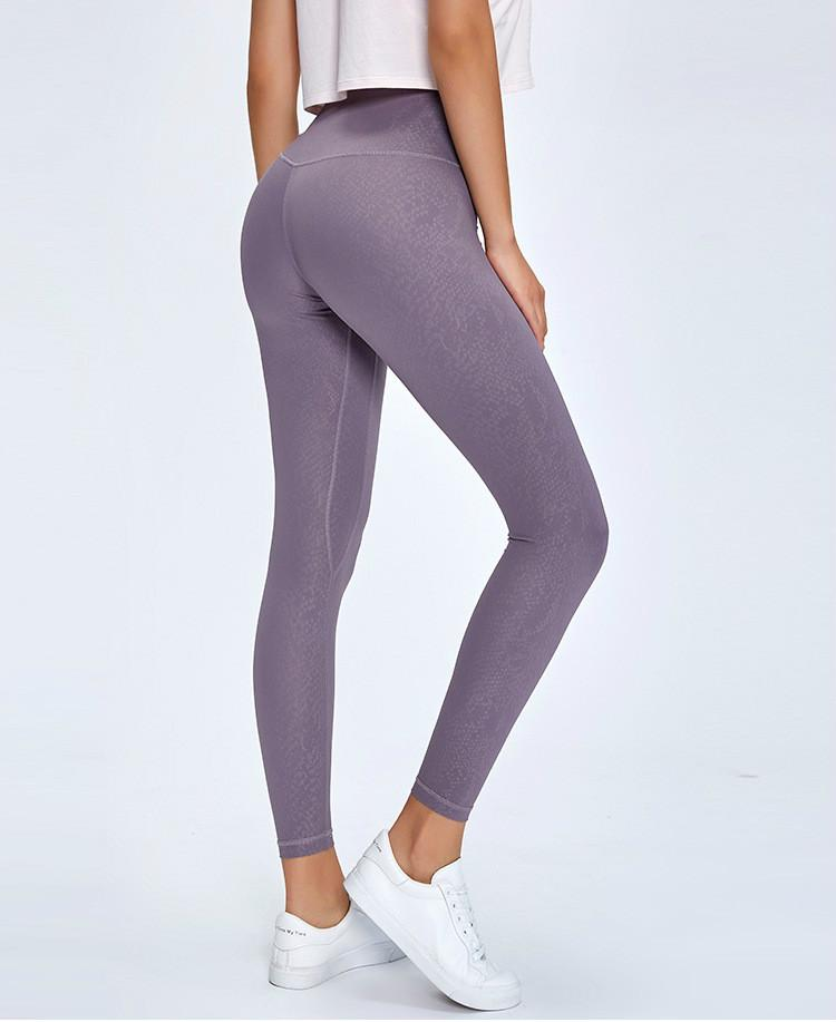 Limited Edition: Violet Sky Ash Leggings Yoga Pants Mindfulness-HOP